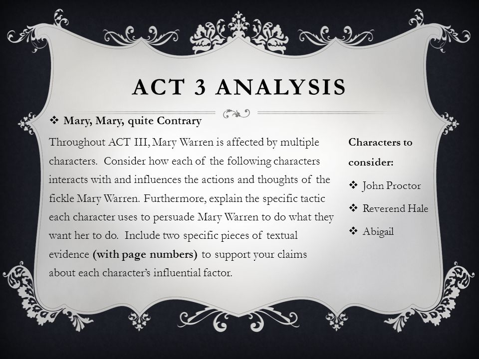 the crucible mary warren character traits
