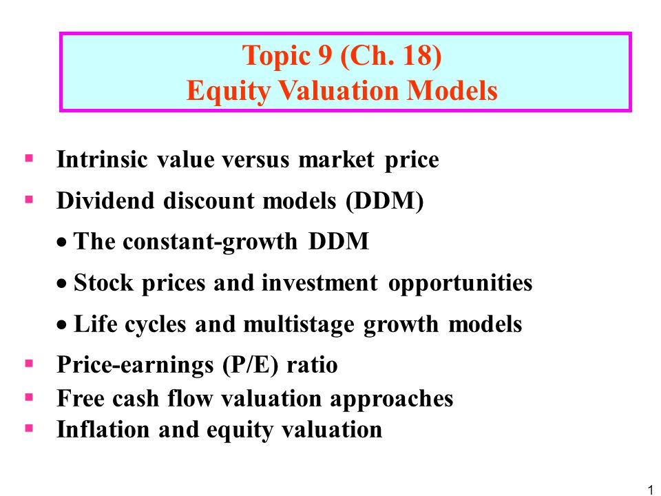 Valuation methods three main approaches to value a business.