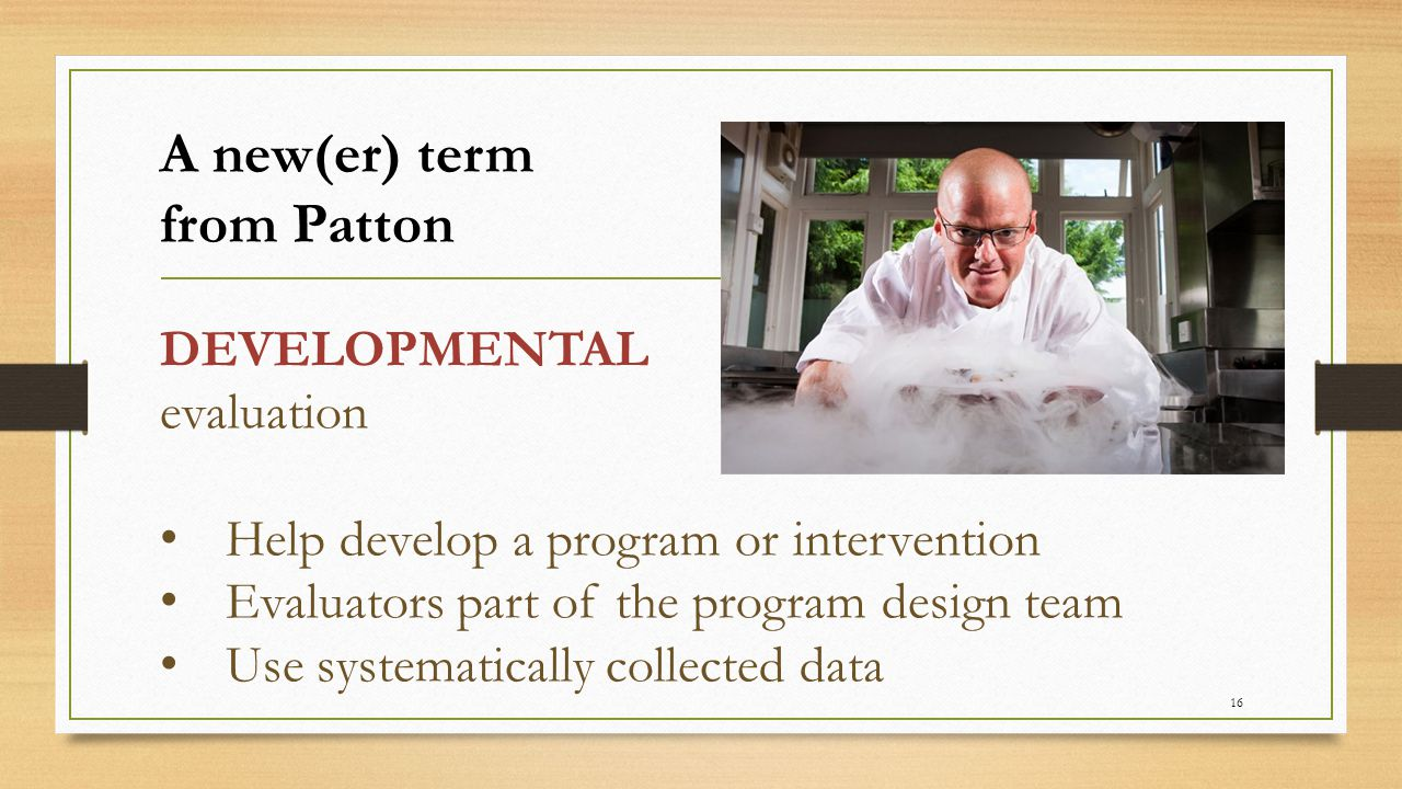 A new(er) term from Patton
