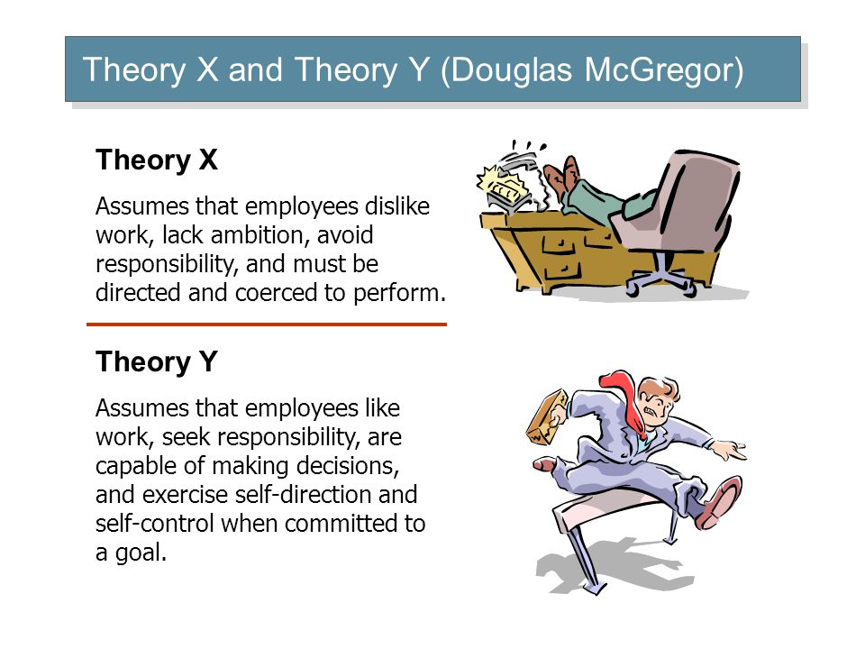 theory x and theory y pdf and organizational chamnbge