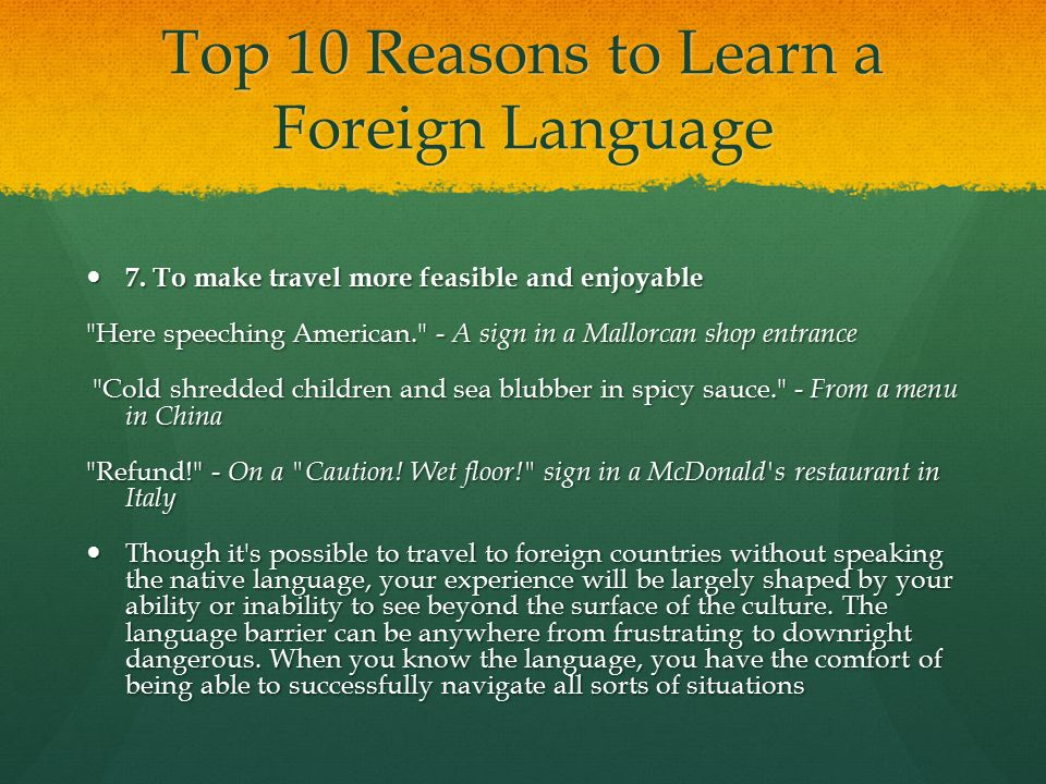 Top 10 Reasons for Learning Sign Language | Page 2 | Deaf ...