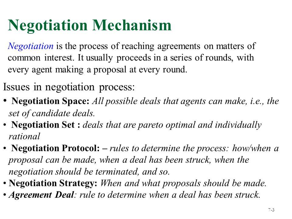 Chapter 15 Bargaining Negotiation May Involve Exchange Of