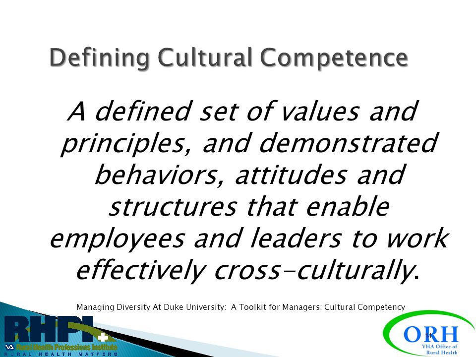 cross cultural competence paper work Cross-cultural competence is the development of knowledge and skill through experience and training that results in a complex schema of cultural differences, .
