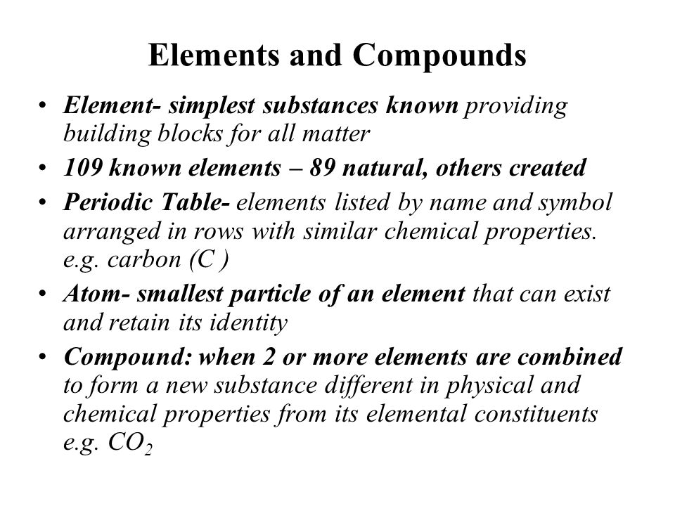 Js 113 organic and inorganic analyses ppt download elements and compounds 4 the periodic table urtaz Image collections