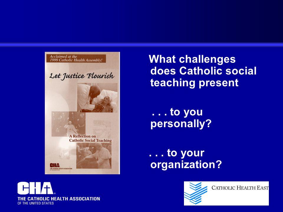 what is catholic social teaching pdf
