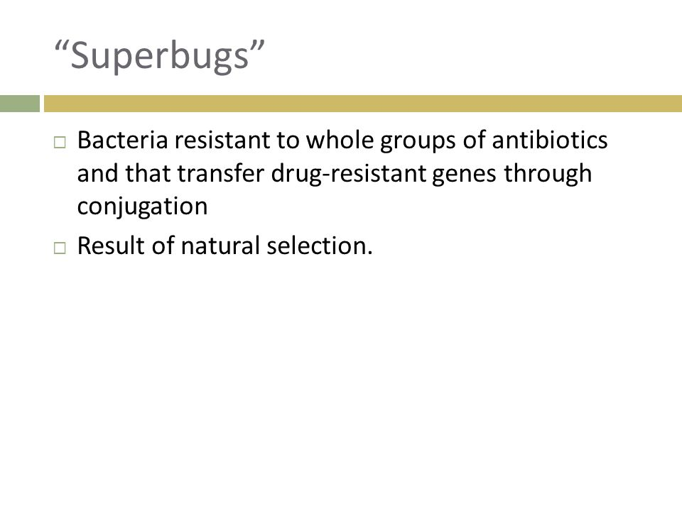 How Do Antibiotics And Bacteria Relate To Natural Selection