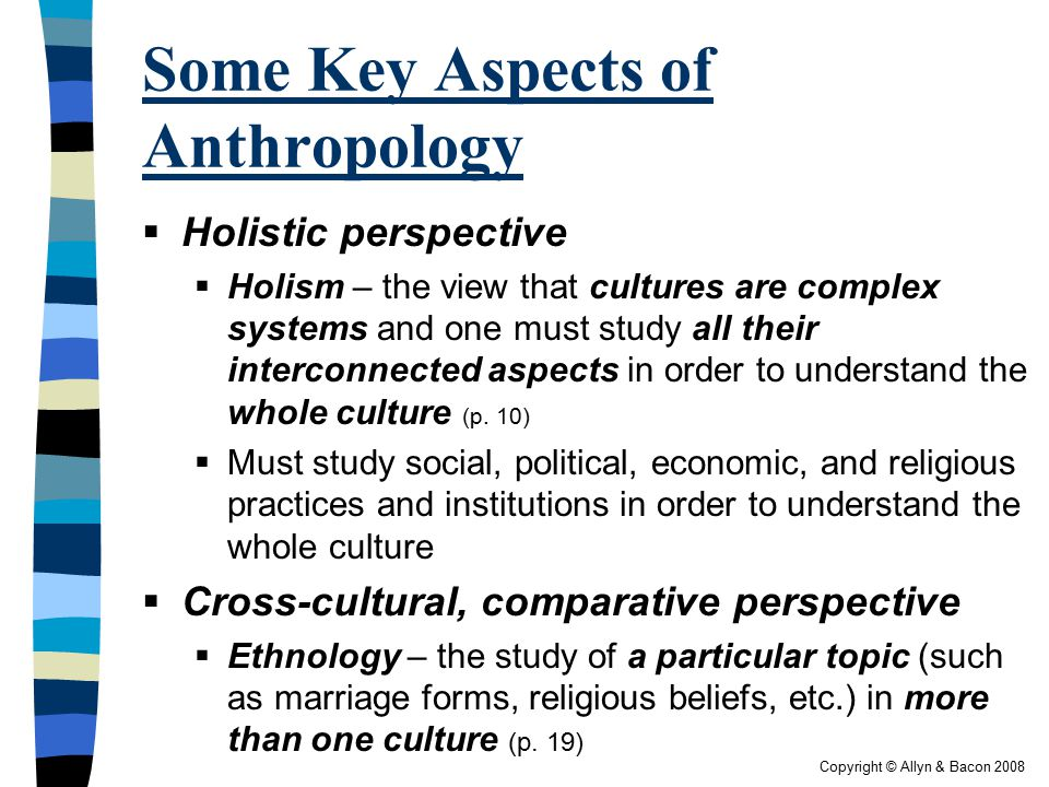 what is holistic approach in anthropology