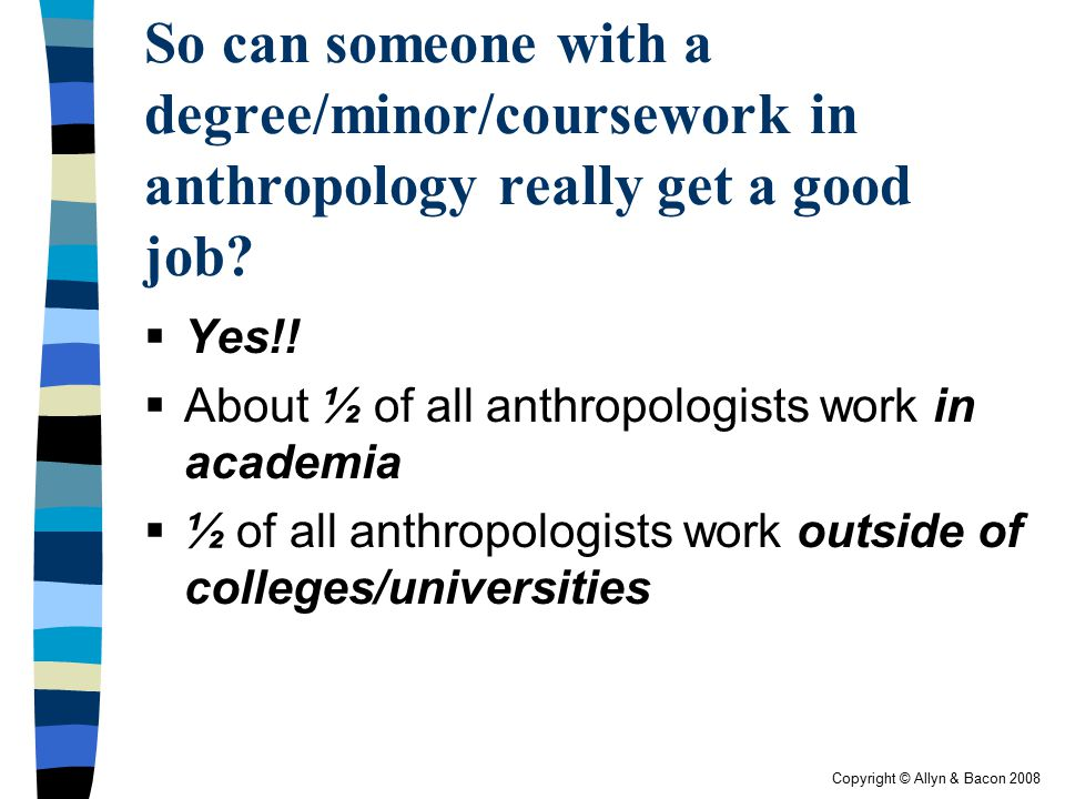 how to get a degree in anthropology