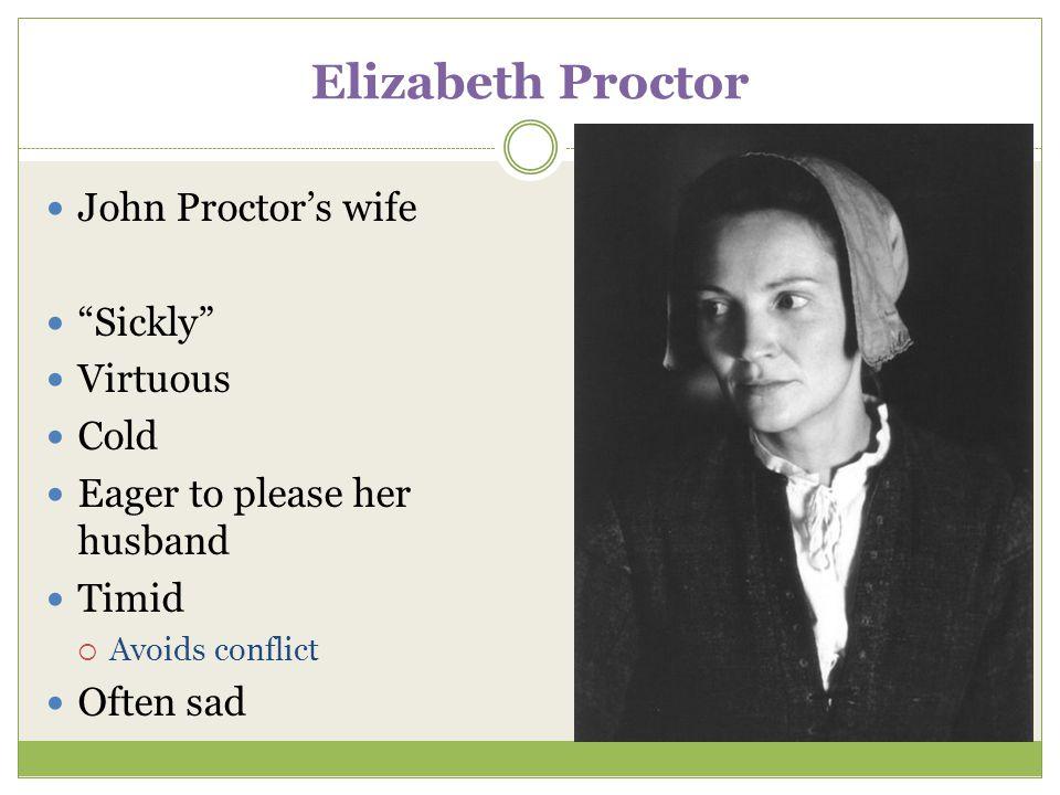 elizabeth proctor character