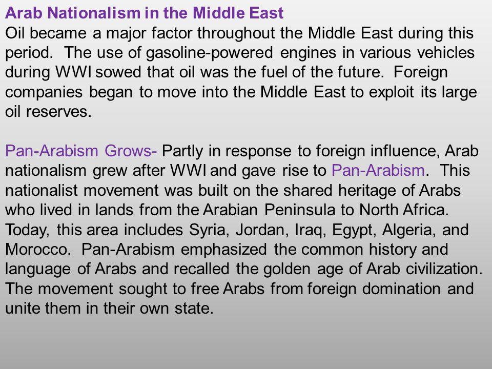 arabism definition