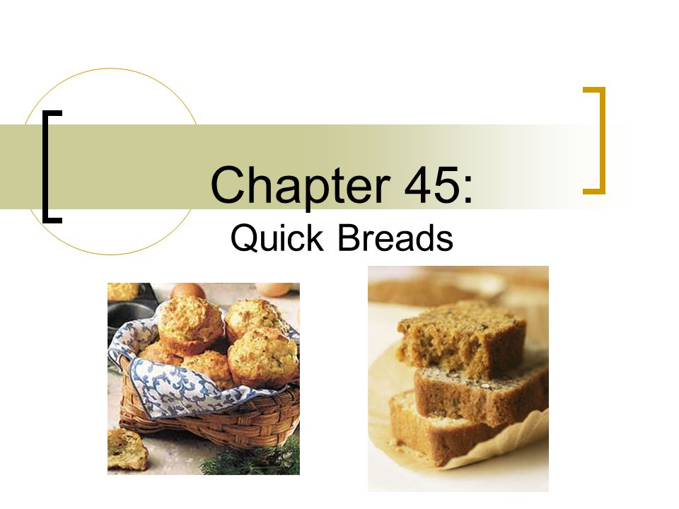 Chapter 45: Quick Breads