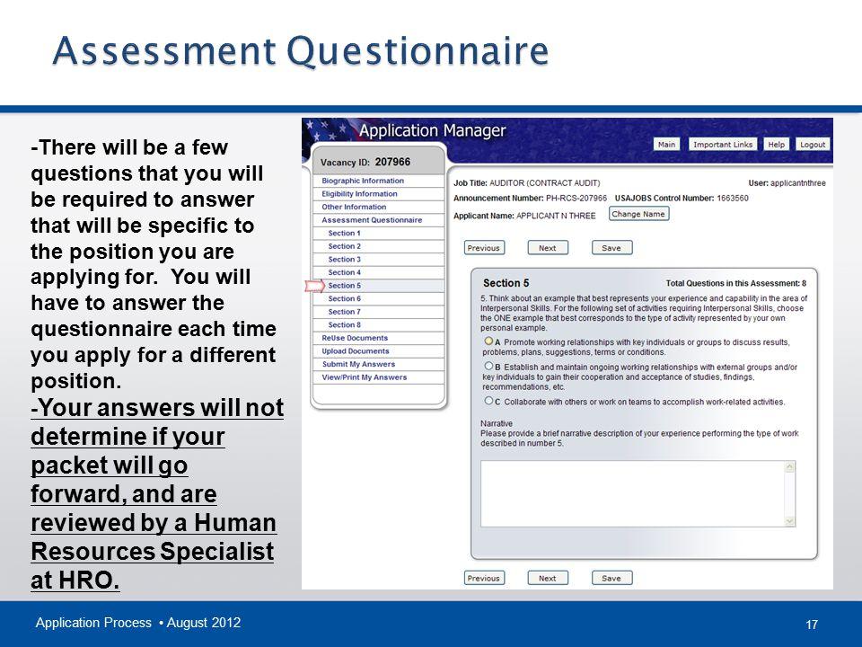 The Federal Hiring Process Using USAJOBS & Application