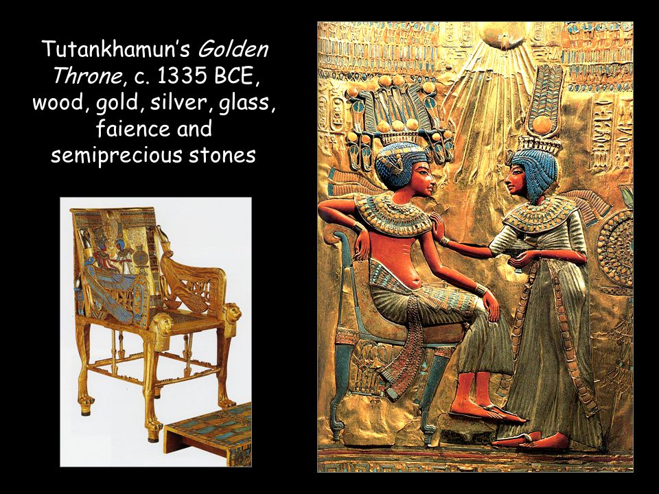 Tutankhamun's Golden Throne, c