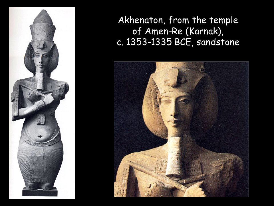 Akhenaton, from the temple of Amen-Re (Karnak), c