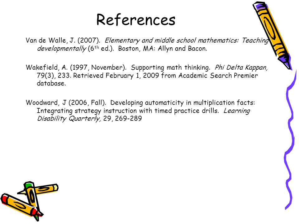 Mathematics Strategy Instruction For Middle School Students With