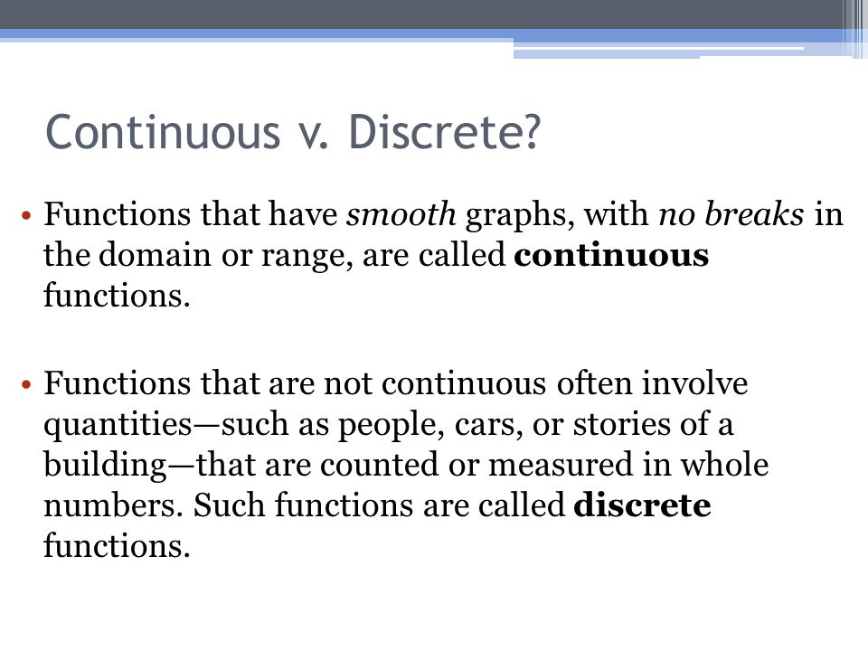 15 Continuous V Discrete: Continuous And Discrete Graphs Worksheet At Alzheimers-prions.com
