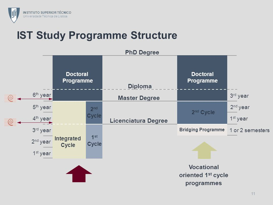 IST Study Programme Structure