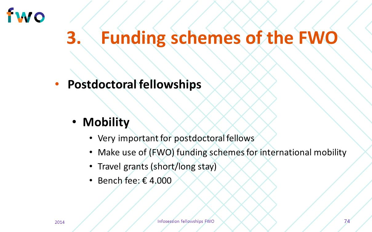 Infosession fellowships - ppt download