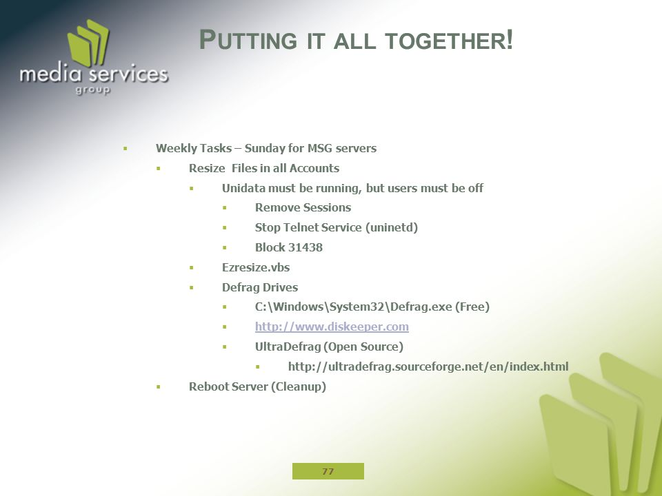 User Group Conference 2012 Advanced Tech Track ppt download