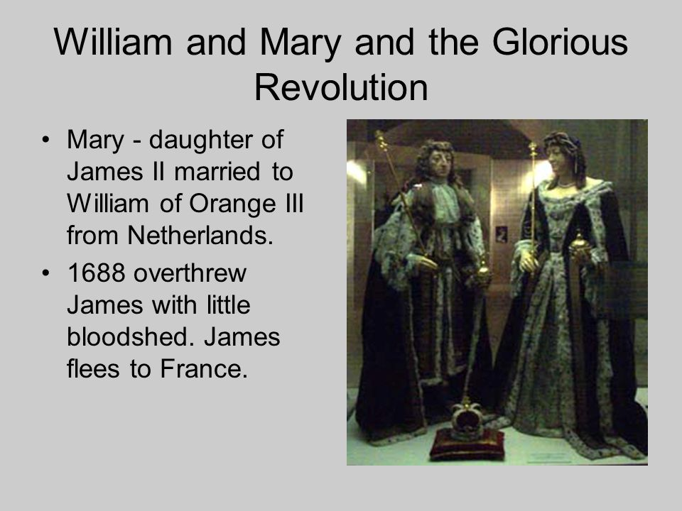 William and Mary and the Glorious Revolution