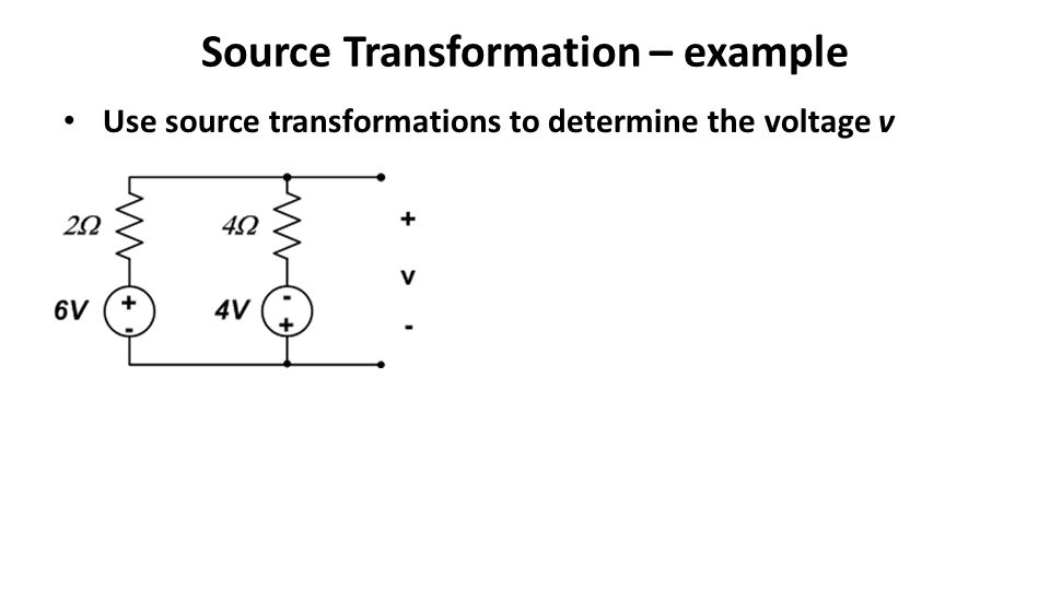 Source Transformation – example