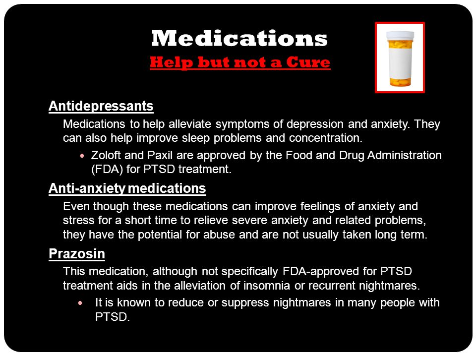 Medications Help but not a Cure
