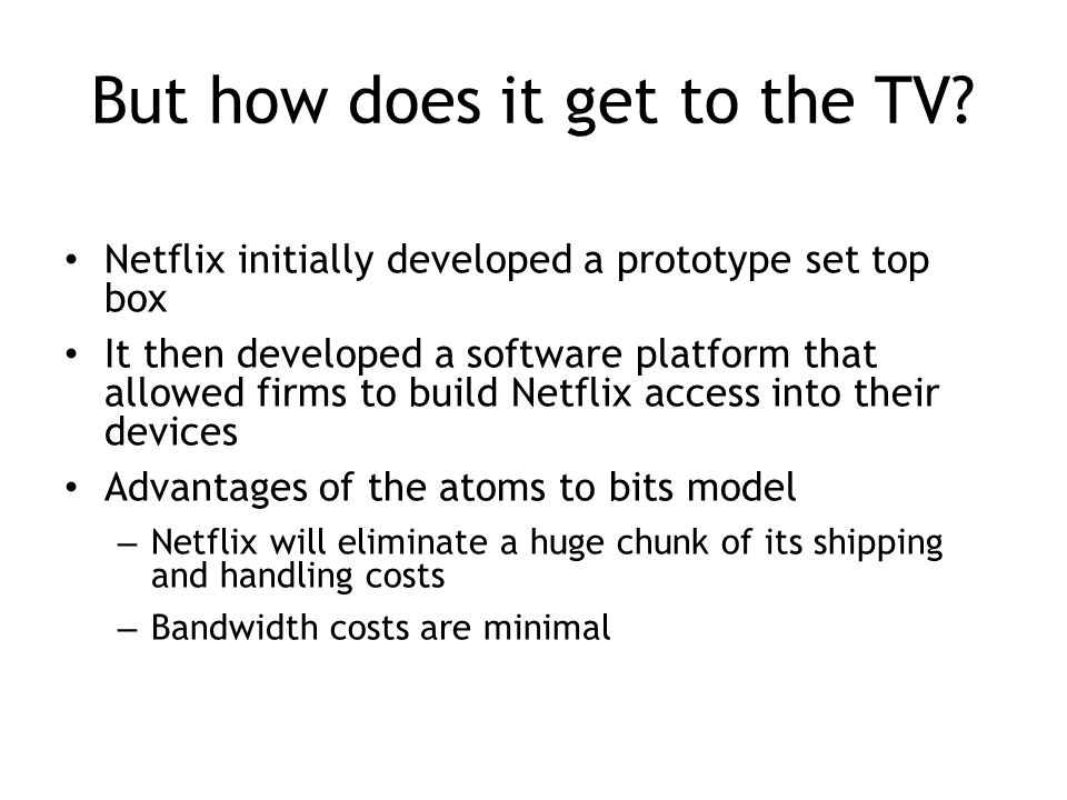 Netflix In Two Acts The Making Of An E Commerce Giant Ppt Video Online Download