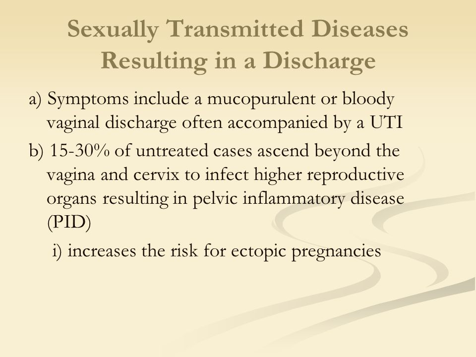 Can utis be sexually transmitted