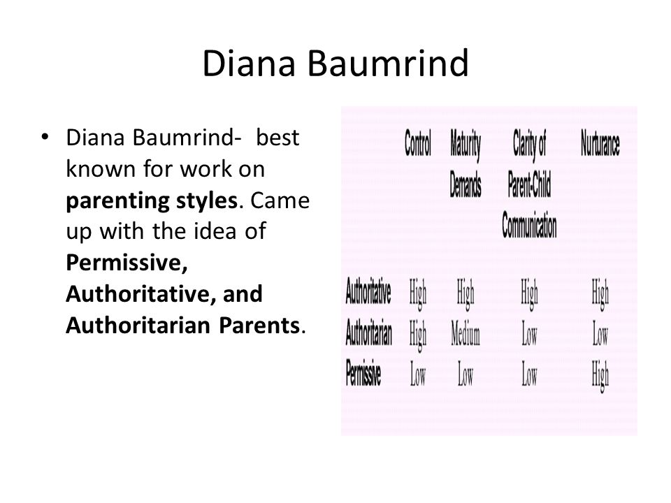 diana baumrind quotes