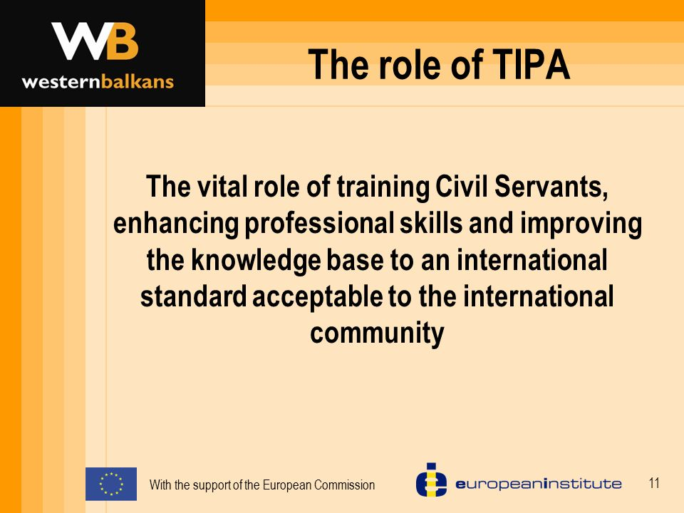 The role of TIPA
