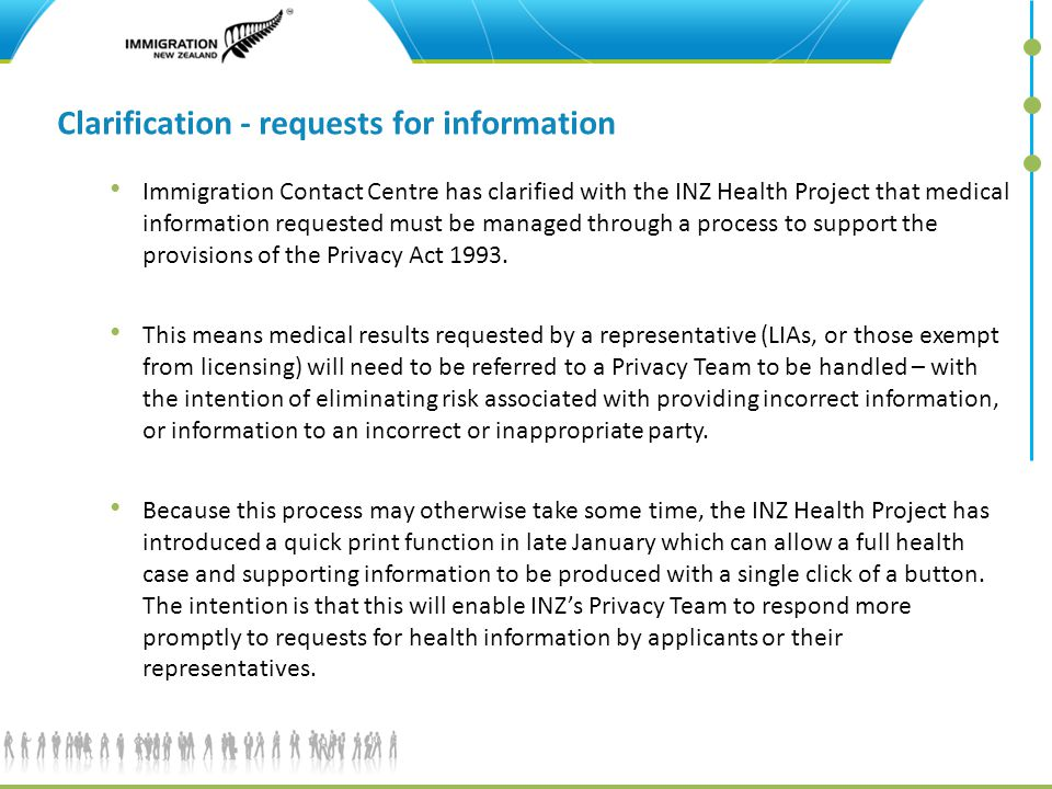 Immigration New Zealand INZ Health Project update - ppt video online