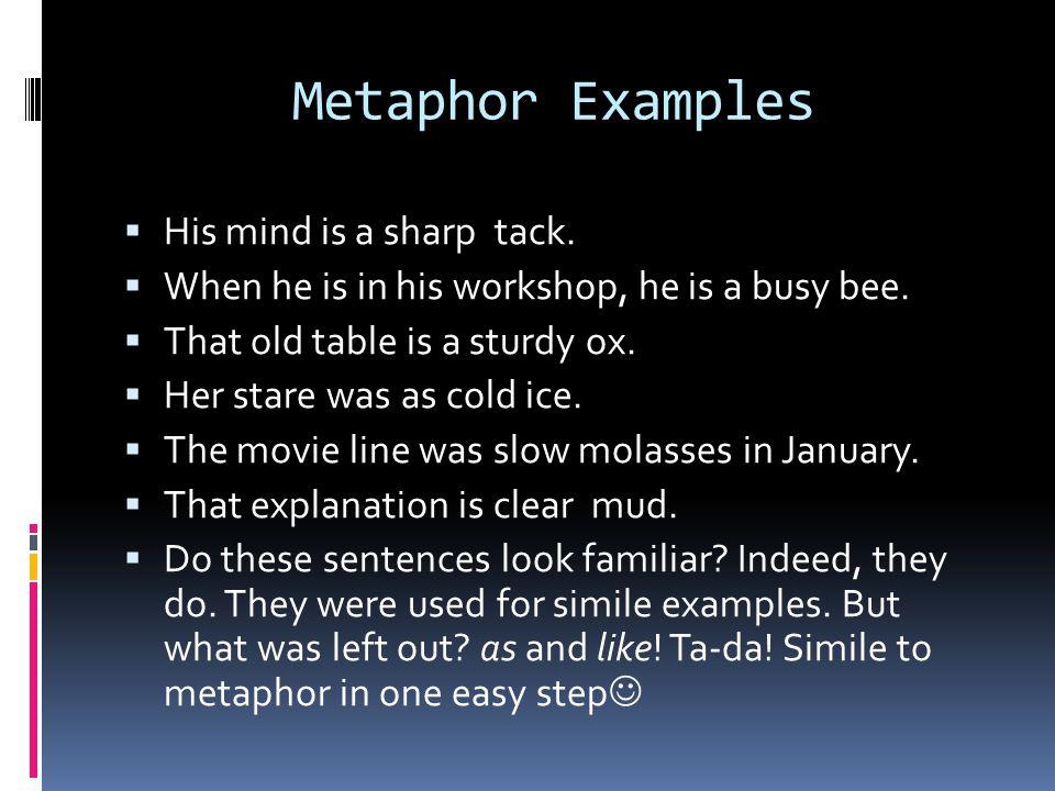 Figurative Language Idioms Analogies Similes And Metaphors Ppt
