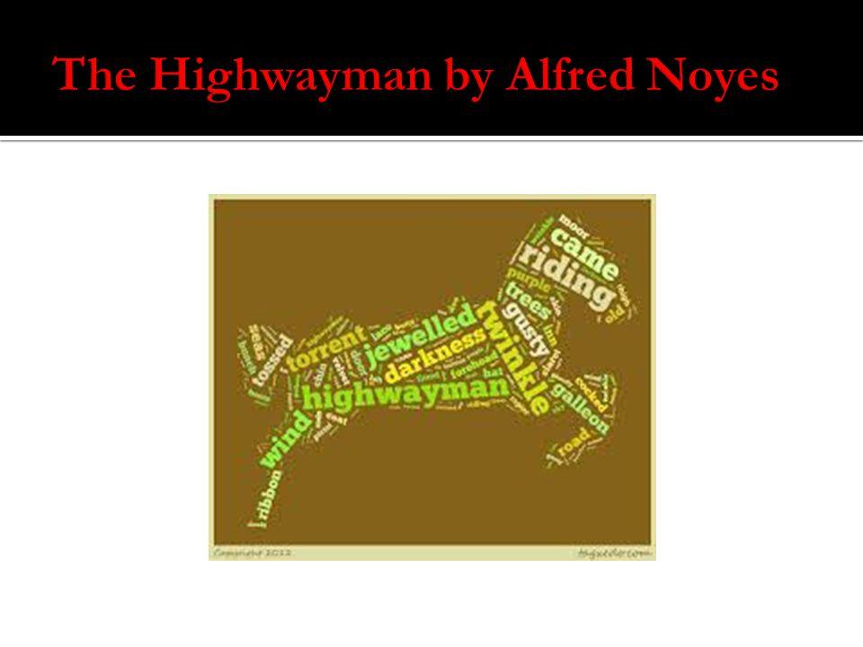 the highwayman analysis stanza by stanza