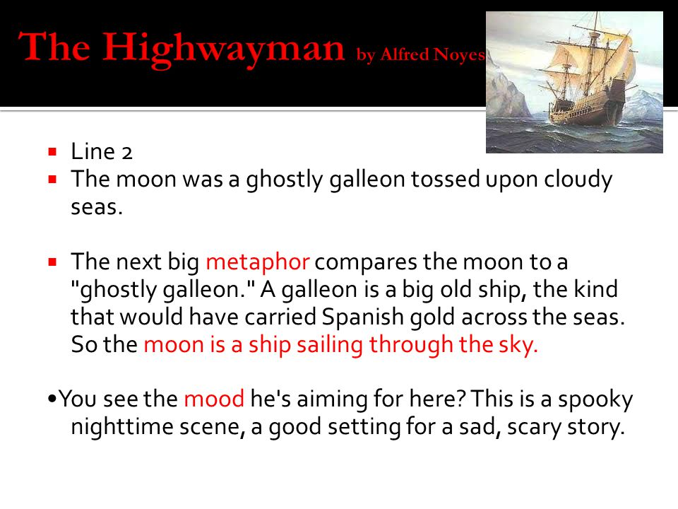 the highwayman short story