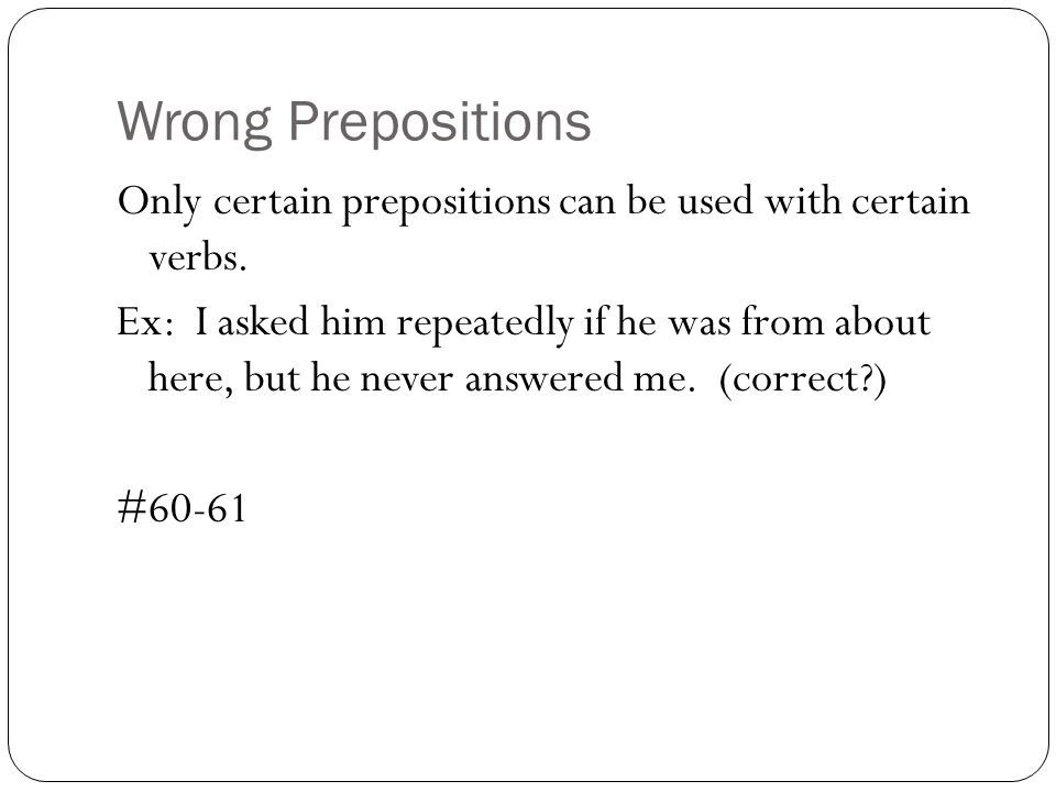 Idioms and Clarity of Expression Punctuation Errors - ppt