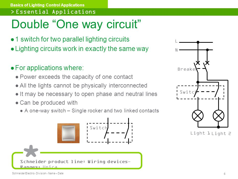 Basics of Lighting Control Applications - ppt download