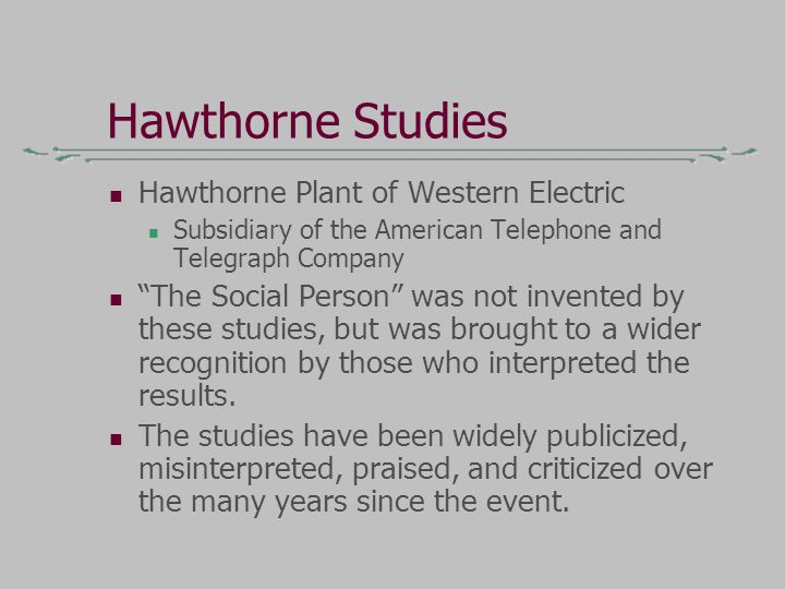 what is hawthorne effect in sociology