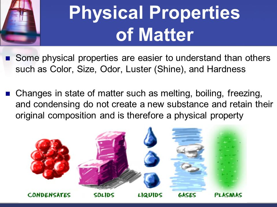 Odor A Physical Or Chemical Property