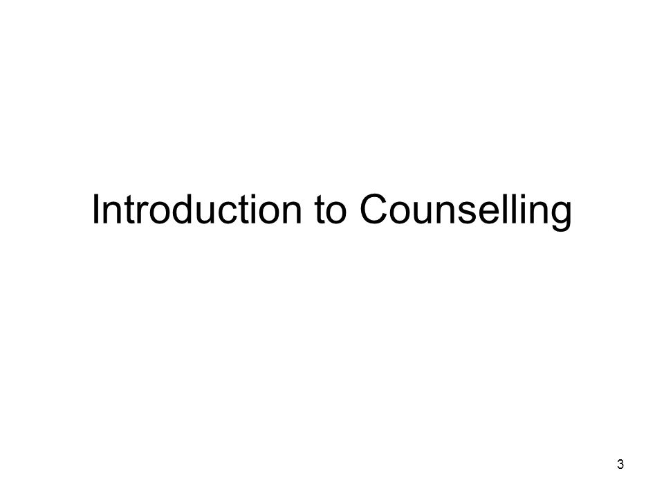 counselling skills ppt