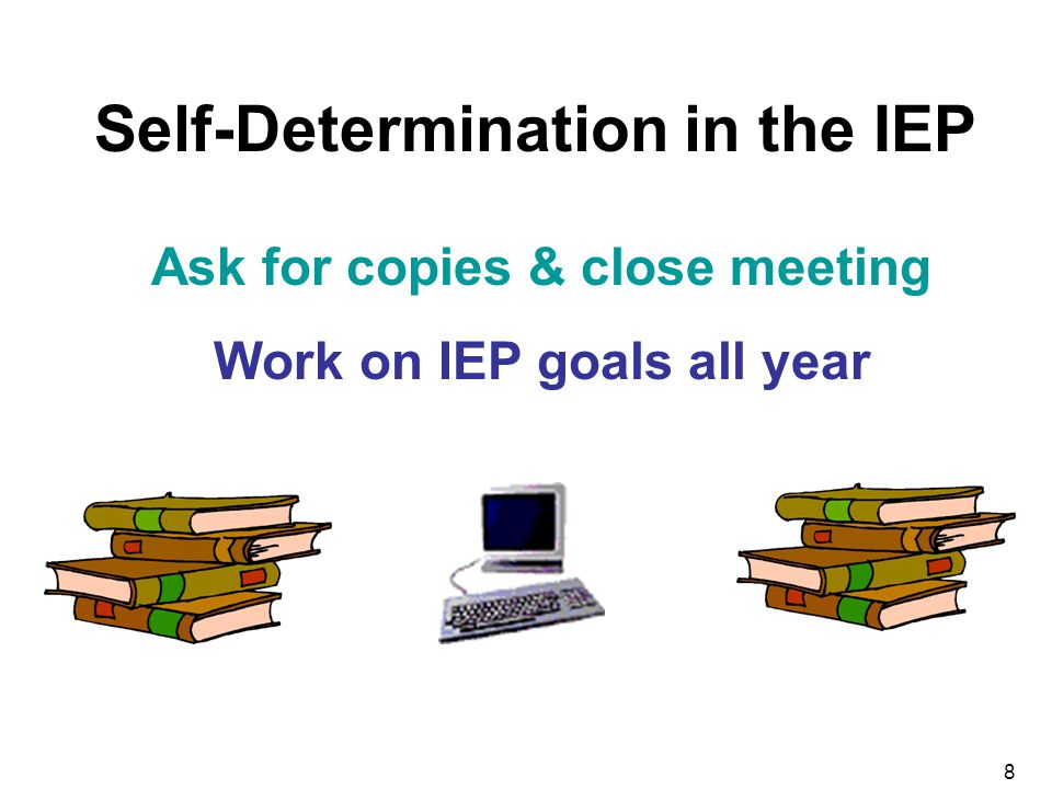 Self-Determination in the IEP