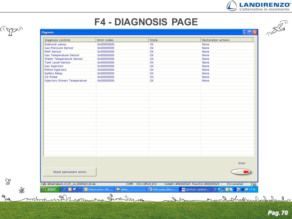 landirenzo software omegas 2010 24