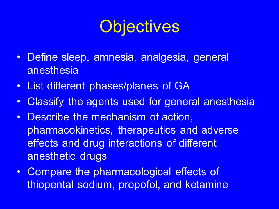 General anesthetics Dr Sanjeewani Fonseka  - ppt download