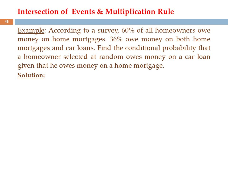 multiplication rule of probability examples with solutions pdf
