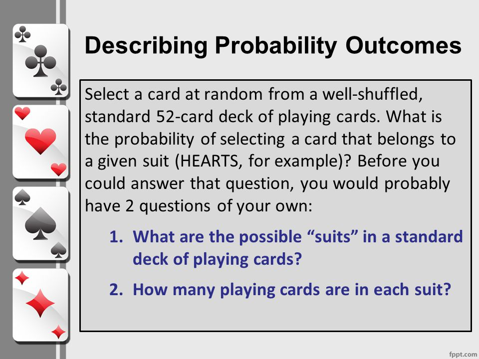 Describing Probability Ppt Video Online Download