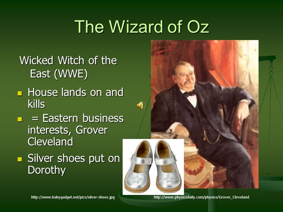 The Wizard of Oz Wicked Witch of the East (WWE)
