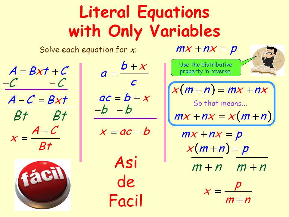 how to solve equations with fractions and variables