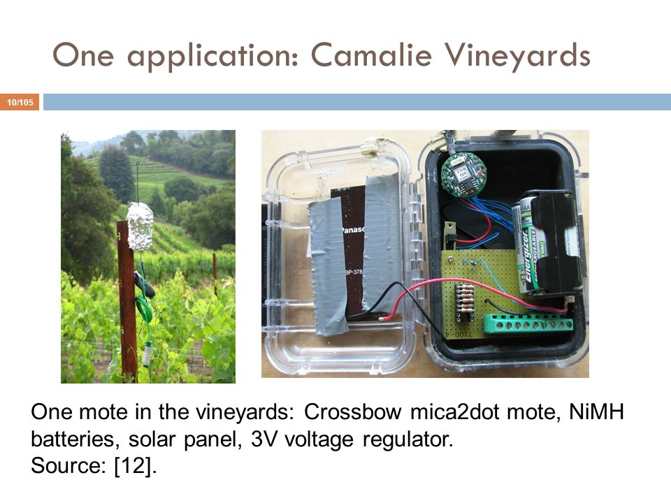 One application: Camalie Vineyards