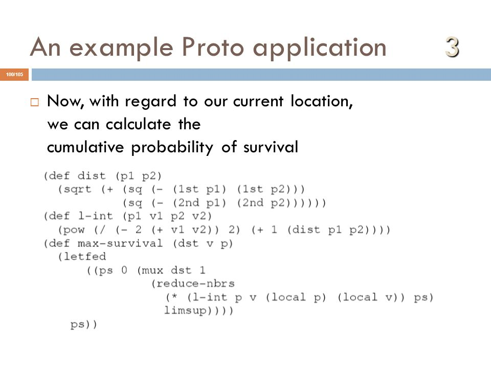 An example Proto application 3