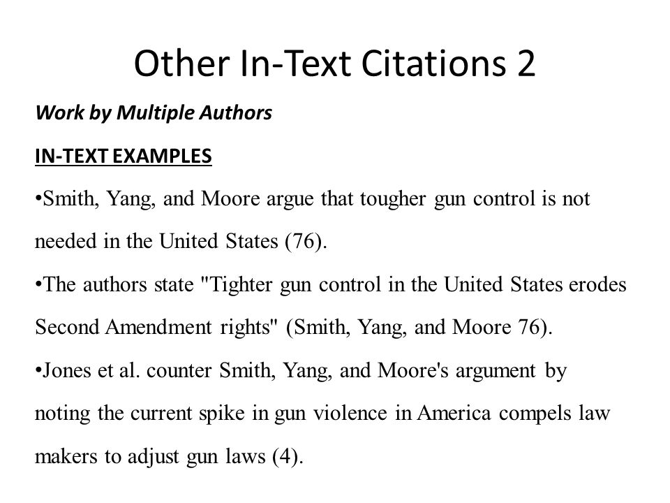 gun control citations