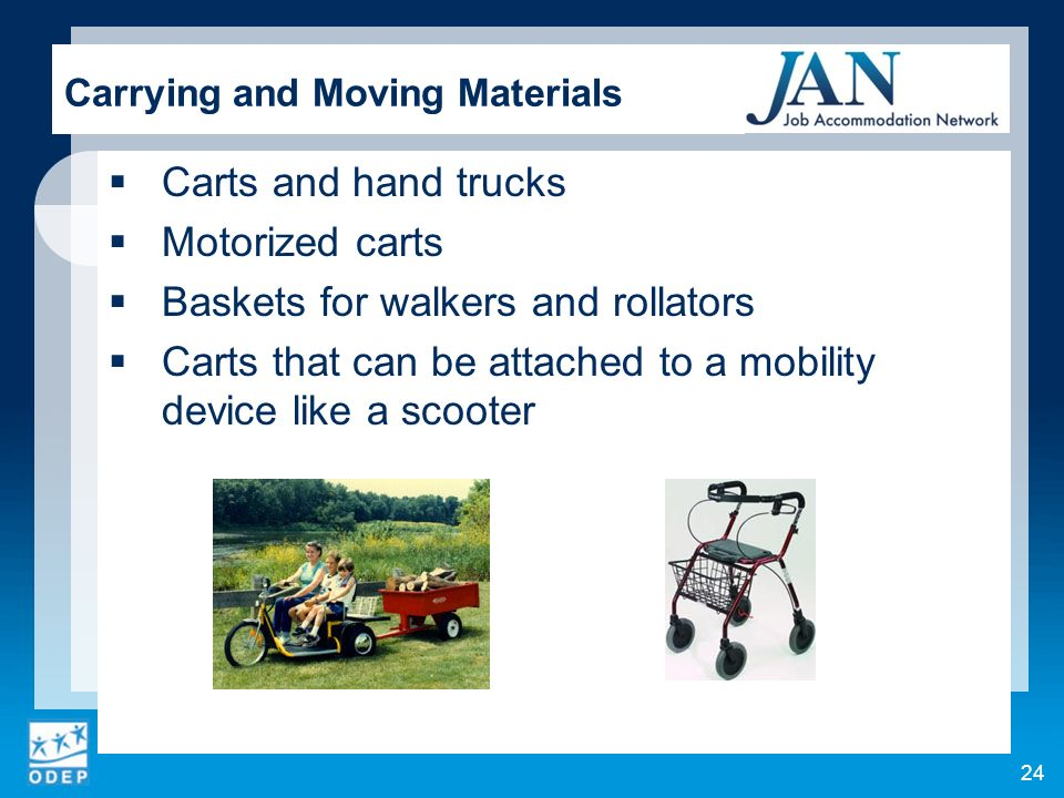 Carrying and Moving Materials